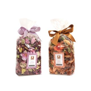 Potpourri in Pouch - Pack of Two - Lavender  / Peach Belani Fragrance