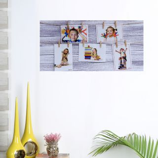 Tayhaa White Wooden Board Collage Photo Frame(PF1701)