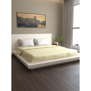 Mark Home Premium Stripes Duvet Cover Double Ivory