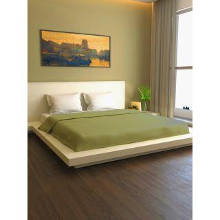 Mark Home Premium Stripes Duvet Cover Double Military Green