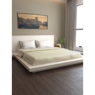 Mark Home Premium Stripes Duvet Cover Double Pearl