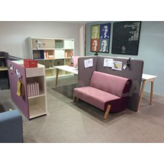Purple 2-Seats Sofa