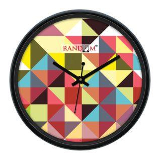 Random  Wave(Glass Covered)  Wall Clock