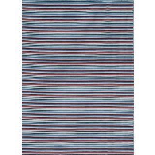 Jaipur Rugs Modern Capri 8X10 Feet Wool Stripes Area Rug