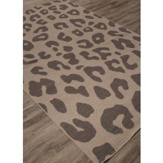 Jaipur Rugs Modern Ashwood Liquorice 5X8 Feet Wool Animal Area Rug