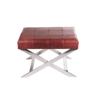 Agate Bench in Genuine Leather