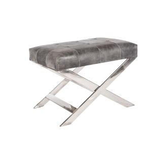 Moonstone Bench in Genuine Leather