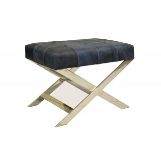 Mar Caribe Bench In Genuine Leather