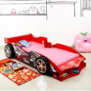 Red Bull Car Bed