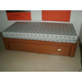 SB 05 Single Cum Double Bed with Storage & Mattress