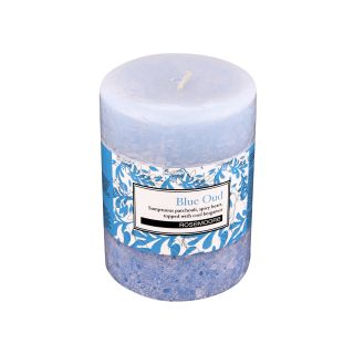 Scented Pillar Candle Blue Oud