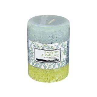 Scented Pillar Candle Eucalyptus & Kaffir Lime