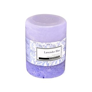 Scented Pillar Candle Lavender Blue
