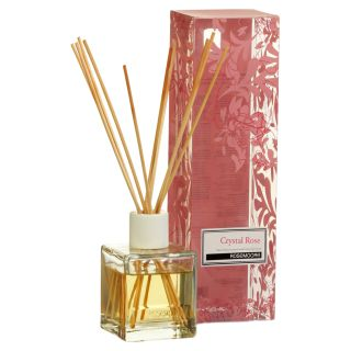 Scented Reed Diffuser Set Crystal Rose