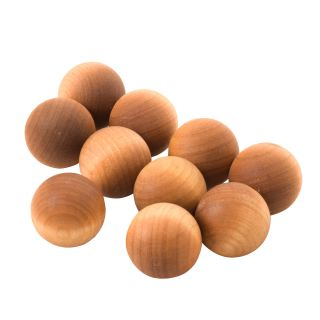 Scented Wooden Balls Pink Pomelo