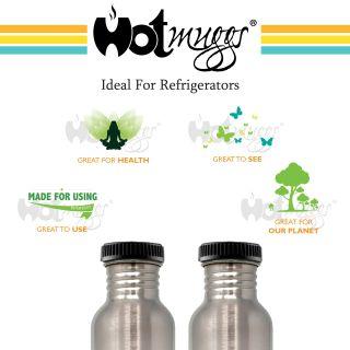 Splash Fridge Bottle 750ml (Set of 2)
