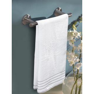 Mark Home  Zero Twist Anti Microbial Treated Simply Soft Bath Towel White