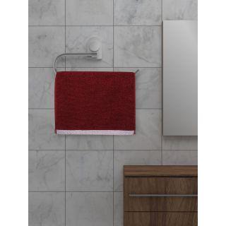 Mark Home  Zero Twist Anti Microbial Treated Simply Soft Face Towel Set of 04 Pcs Maroon