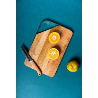 Serving Board Rectangle SS Handle