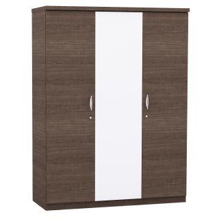 Swann 3 door wardrobe with internal mirror