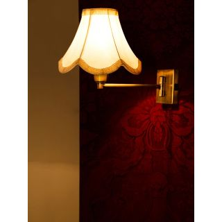 Fos Lighting Classy Swivel Antique Bedside Wall Sconce