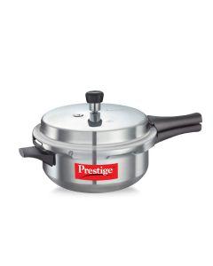 Prestige Popular Aluminium Outer Lid Pressure Pan, 6 Litre, Silver