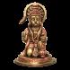 Sitting Hanuman - Brass Copper