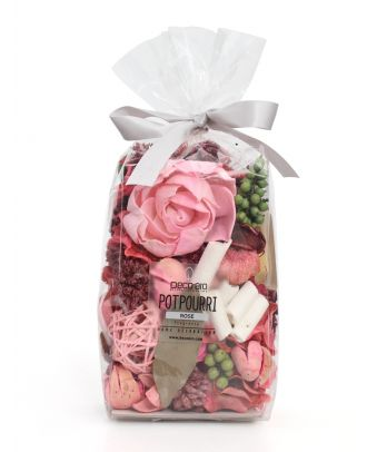 Potpourri in Poly Pouch Rose Fragrance